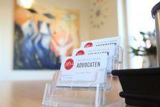 MRS Advocaten visitekaartjes